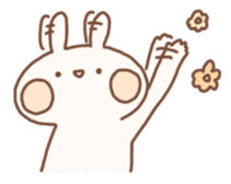 momochy's Rabbit sticker #95880