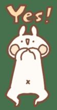 momochy's Rabbit sticker #95890