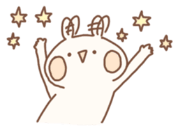 momochy's Rabbit sticker #95892