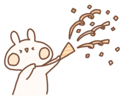momochy's Rabbit sticker #95900