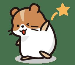 Cute hamster ! sticker #96157