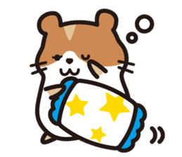 Cute hamster ! sticker #96158