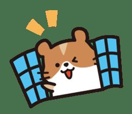 Cute hamster ! sticker #96164