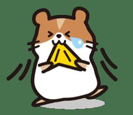 Cute hamster ! sticker #96165