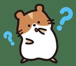 Cute hamster ! sticker #96167