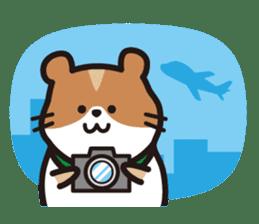 Cute hamster ! sticker #96171