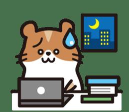 Cute hamster ! sticker #96173