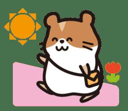 Cute hamster ! sticker #96175
