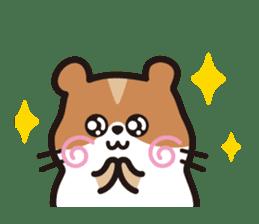 Cute hamster ! sticker #96180