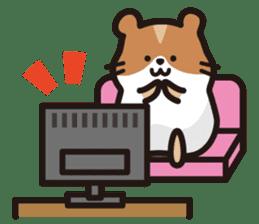 Cute hamster ! sticker #96181