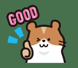 Cute hamster ! sticker #96183