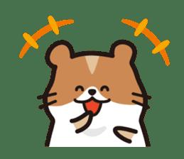Cute hamster ! sticker #96184