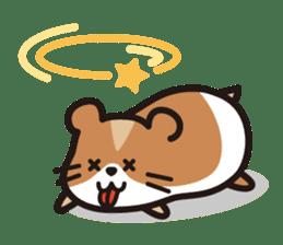 Cute hamster ! sticker #96189