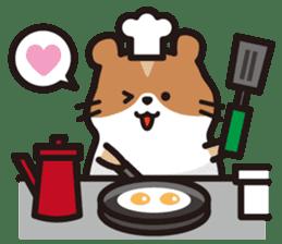Cute hamster ! sticker #96191