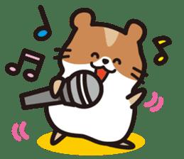 Cute hamster ! sticker #96194