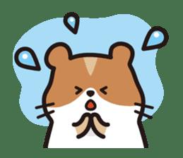 Cute hamster ! sticker #96195