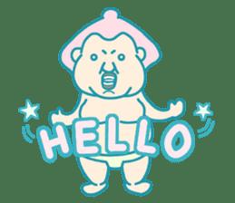yokozuna-man sticker #96356