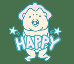 yokozuna-man sticker #96360