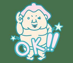 yokozuna-man sticker #96362