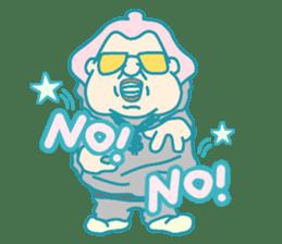 yokozuna-man sticker #96363