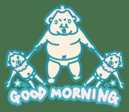 yokozuna-man sticker #96364