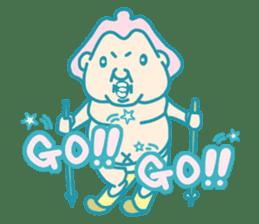 yokozuna-man sticker #96366