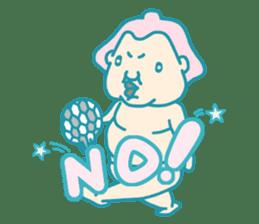 yokozuna-man sticker #96371