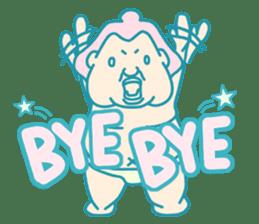 yokozuna-man sticker #96377