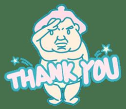 yokozuna-man sticker #96378