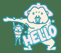 yokozuna-man sticker #96381