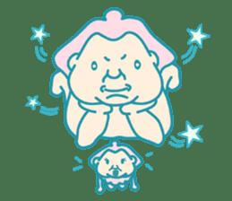 yokozuna-man sticker #96388