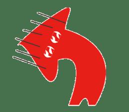 Mr red arrow sticker #96684