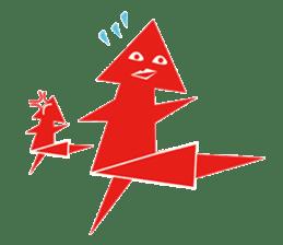 Mr red arrow sticker #96711