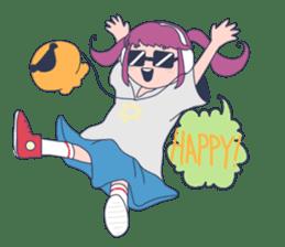 MOKUGYO-GIRL sticker #96761