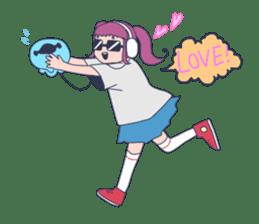 MOKUGYO-GIRL sticker #96765