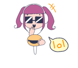 MOKUGYO-GIRL sticker #96769