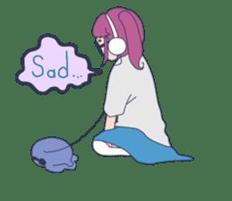 MOKUGYO-GIRL sticker #96773