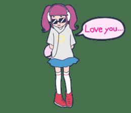 MOKUGYO-GIRL sticker #96782