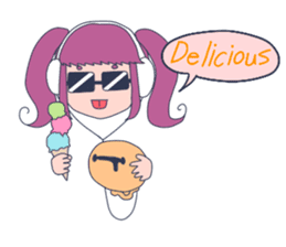 MOKUGYO-GIRL sticker #96791