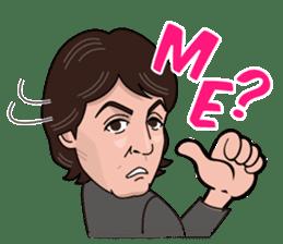 Paul McCartney sticker #97045