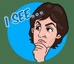 Paul McCartney sticker #97048