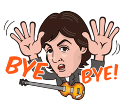 Paul McCartney sticker #97053