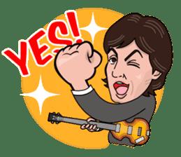 Paul McCartney sticker #97057