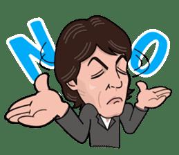 Paul McCartney sticker #97061