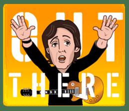 Paul McCartney sticker #97063