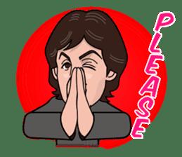 Paul McCartney sticker #97070