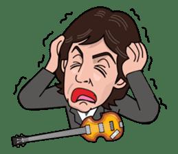 Paul McCartney sticker #97074
