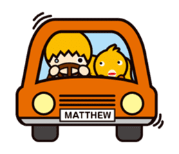 Matthew&Trippy sticker #97221