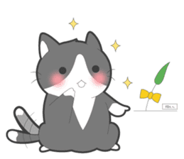 Every day you want help of cat sticker #97519