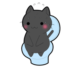 Every day you want help of cat sticker #97523